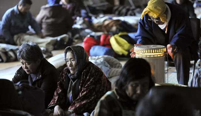 Supervivientes en Kesennuma. | Efe.