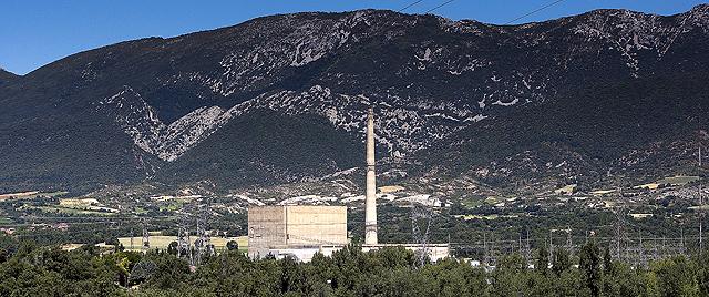 Imagen de la central de Santa María de Garoña (Brugos). | Iñaki Andrés