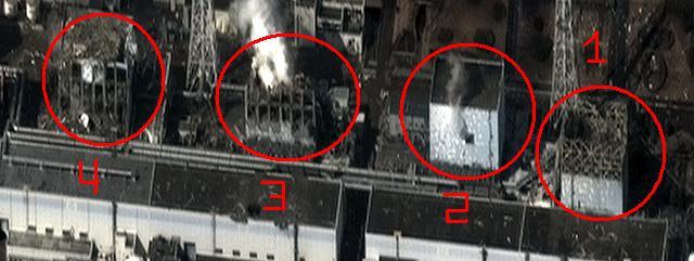 Imagen de cómo se encuentran los reactores. | Reuters