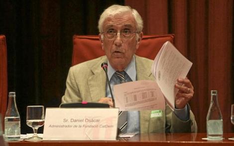 Osàcar, en la comisión parlamentaria de investigación sobre el 'caso Palau'.| Quique García