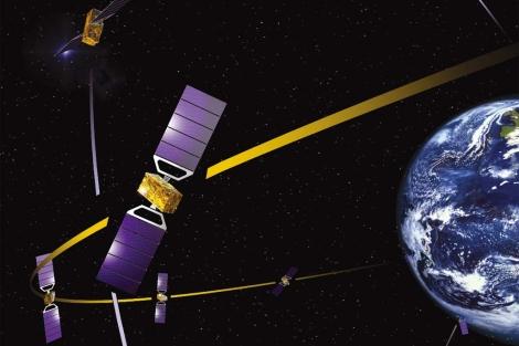 El sistema de navegación por satélite europeo pretende competir con el GPS. | ESA