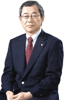 Masataka Shimizu, presidente de Tepco.