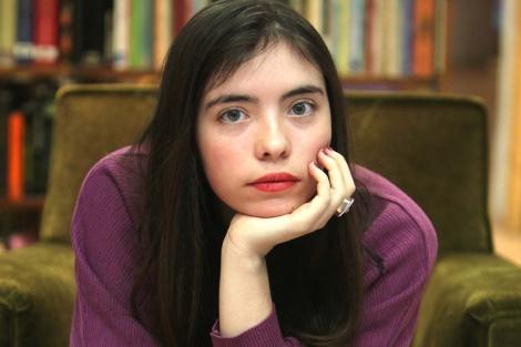 En la imágen, la escritora Luna Miguel | Foto: Máximo García de la Paz