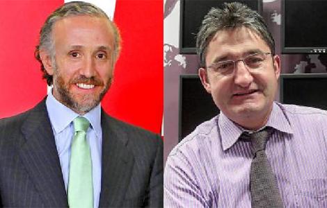 Eduardo Inda y Óscar Campillo.