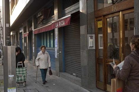 El local del centro de Bilbao donde estará ubicado Pacha desde este martes. | Mitxi