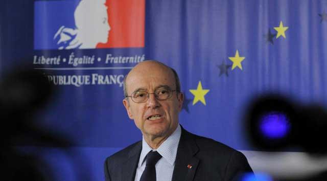 El ministro francés de Asuntos Exteriores, Alain Juppé. | Afp