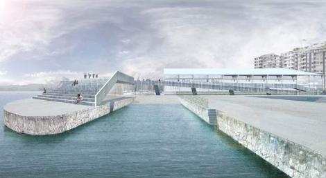 El proyecto de las nuevas instalaciones de vela olímpica en Santander. | RFEV