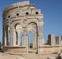 El mercado de Leptis Magna.   Richard McManus (Getty)