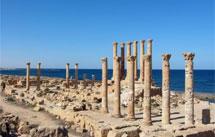 Ruinas romanas de Sabratha.   Libyan Soup (Getty)