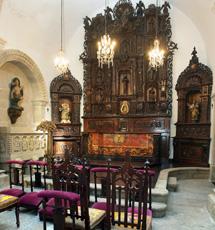Retablo barroco de la capilla. | C.P.