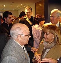 Isabel Carrasco y Conrado Blanco. | A.F.S.
