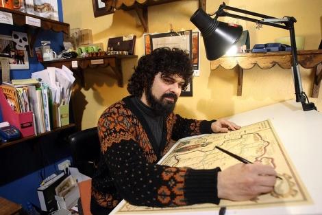 El toresano Carlos Adeva diseña el mapa.   Ical