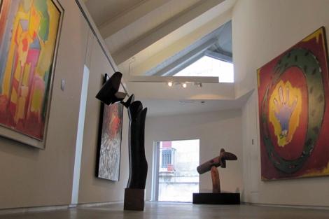 El cuarto piso alberga obras de los años 70. |A.G.