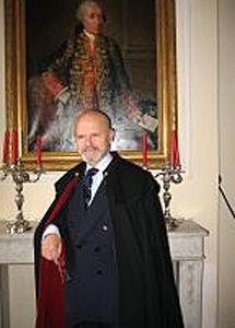 El conde Francisco López Becerra de Solé. | Archivo familiar