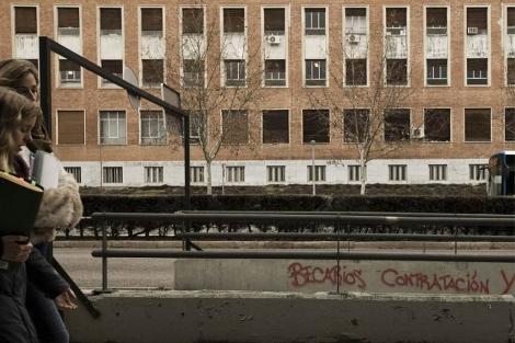Imagen de una de las facultades de la Universidad Complutense. (EM)