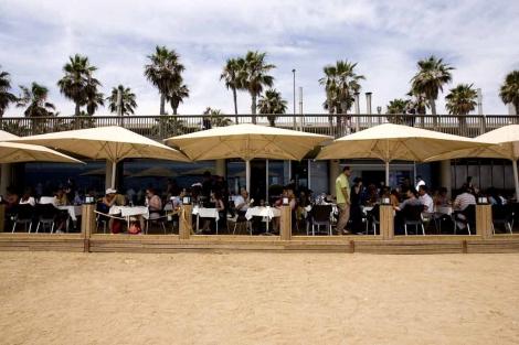El restaurante Ca La Nuri se ha unido a Barceloneta Cuina. | Santi Cogolludo