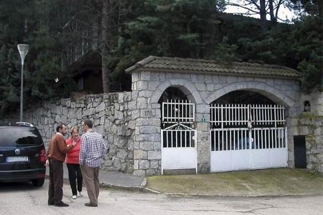 Imagen del chalé donde se produjo el suceso. (Efe)