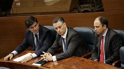 Alfonso Bosch Tejedor, Alberto López Viejo y Benjamín Martín Vasco. | Roberto Cárdenas
