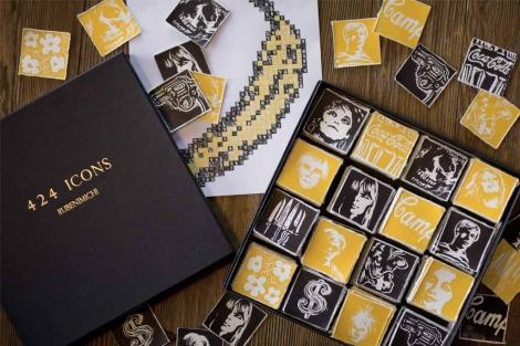 Serie 'Icons' del Colectivo 'Rubenmichi'