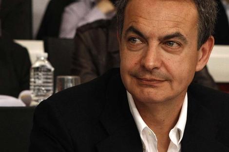 Zapatero, durante el Comité Federal donde despejó su futuro. | Antonio Heredia