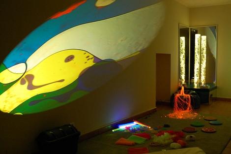 La sala multisensorial inaugurada este sábado. | Fundación Menela