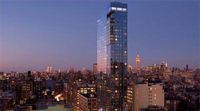 El Hotel Trump Soho, de 46 plantas.   Elmundo.