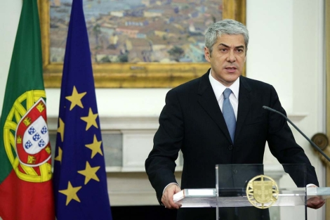 El primer ministro portugués saliente, José Sócrates. | Efe