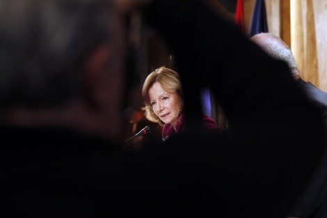 La ministra de Economía, Elena Salgado.   Begoña Rivas