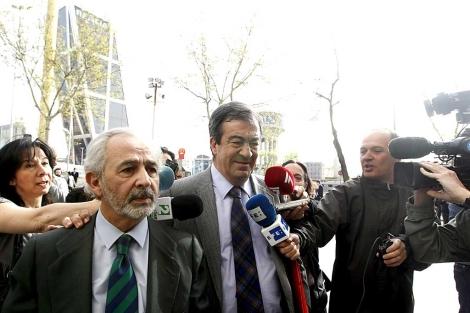 Francisco Álvarez Cascos, a su llegada al juzgado. | Efe