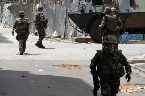 Soldados franceses desplegados en Costa de Marfil.| Reuters