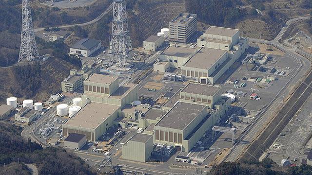 Vista aérea de la central nuclear de Onagawa, en Japón, donde se ha detectado filtraciones de agua. | Reuters