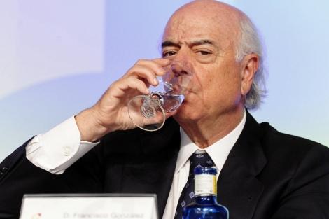 Francisco González, presidente del BBVA. | Gonzalo Arroyo