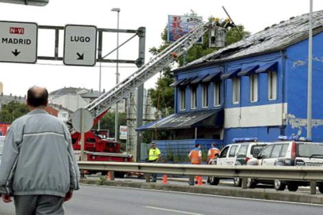 Uno de los burdeles donde se buscaban pruebas sufrió varios incendios. | Efe