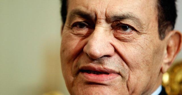 Hosni Mubarak, en una imagen de cuando era presidente.  Reuters
