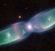M2-9 observada por el Hubble en 1997. | NASA/Balick/Icke/Mellema
