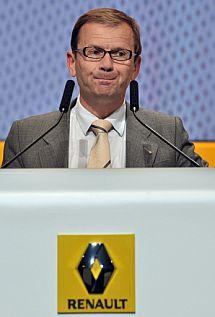 El 'número dos' de Renault, Patrick Pelata. | Afp