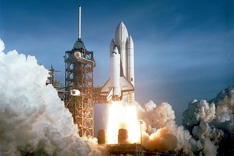 Lanzamiento del 'Columbia' el 12 de abril de 1981. | NASA