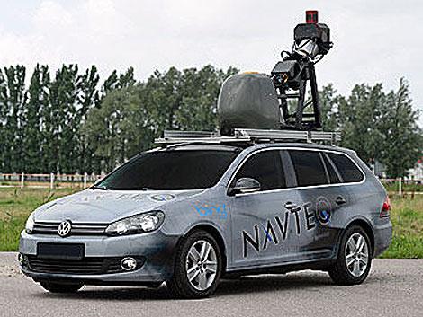 Uno de los coches de la compañía foto: Navteq