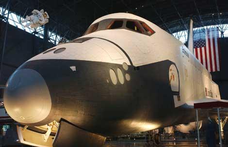 El Enterprise está expuesto en la actualidad en Chantilly, Virginia. | NASA.