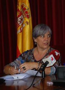 La concejal Carmen Basadre. | S. P.