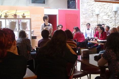Al recital acudieron 14 poetas gallegos.   M. M.