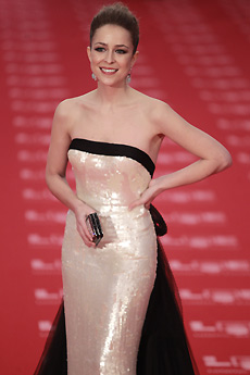 La actriz, en la última gala de los Goya. | Antonio Heredia