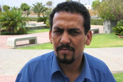 Uno de los activistas saharauis presos, Ali Salem Tamek.|