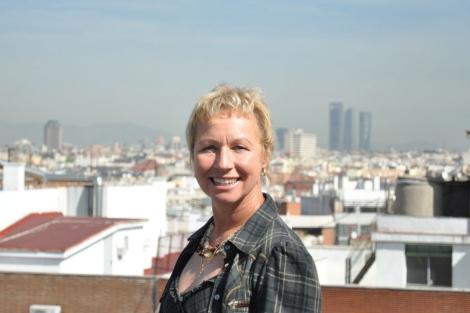 La escritora alemana Sarah Lark está en Madrid promocionando su última novela