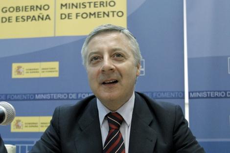 José Blanco durante la primera reunión de la Comisión de Trabajo. | Efe