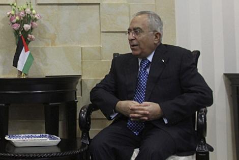 El primer ministro de Palestina, Salam Fayad. | Efe