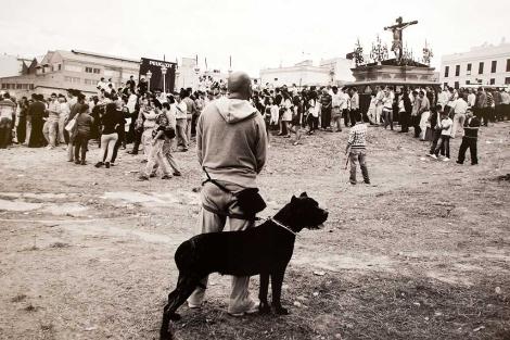 Una de las fotografías de Carmona Otero expuestas en Jerez. | Rep. Gráfico: J.F. Ferrer