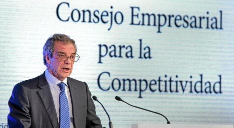 El presidente de Telefónica, César Alierta. | Gonzalo Arroyo