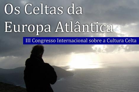 Cartel del congreso del mundo celta celebrado en Narón.