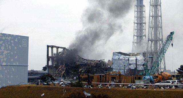 Imagen del reactor número 3.   Reuters